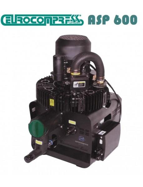 EUROCOMPRESS  Cerrahi Aspiratör ASP 600  (Durr sisteminde çalışır ) ( 4 veya 5 ünit çalıştırır )