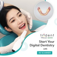 TRIDENT TRIscan  QUICK    3D İntraoral  Scanner
